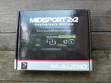 M-Audio Midisport 2X2 midi interface Anniversary Ed 2-in/2-out USB Bus-Powered