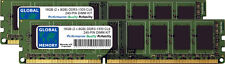 16GB (2x 8GB) DDR3 1333MHz PC3-10600 240-PIN Memoria Dimm Kit para Ordenadores