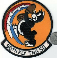 US Navy Air Force 90th Flight Training Squadron Patch USAF Cartoon Character
