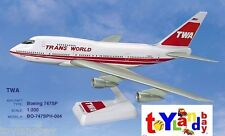 Flight Miniatures Twa Trans World Airlines Old 1974 Boeing 747Sp 1:200 Scale New