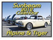 SUNBEAM ALPINE & TIGER CLASSIC BRITISH SPORTS CAR CALENDAR 2012 FRAMABLE PHOTOS