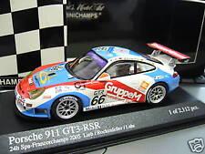 PORSCHE 911 996 gt3 RSR 24h SPA 2005 bellissime Luhr ROCKENFELLER Minichamps 1:43