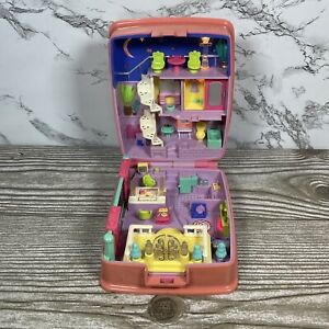 Vintage 1994 Polly Pocket Starbright Dinner Party Playset Only - Lights Work