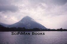 Vintage 35mm Slide Switzerland? Lake Mountain Trees Clouds 1972!!!