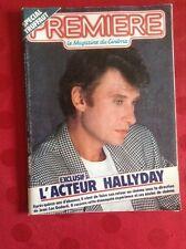 JOHNNY HALLYDAY / MAGAZINE PREMIÈRE N°93 DÉCEMBRE 1984 / EN BON ÉTAT.