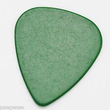 12 New Soiid Green Celluloid Guitar Picks Medium Thickness No Logo