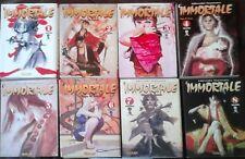 FUMETTI MANGA 90-L'IMMORTALE 1,2,3,4,5,6,7,8,9 COMIC ART COMPLETA ninja,samurai