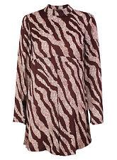 Hip Length Blouse Long Sleeve Tops & Shirts for Women