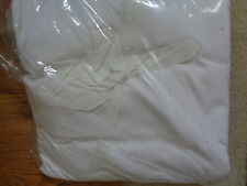 "Pottery Barn Pb Basic Pleated Bed Skirt-Queen Size-Natural-14"" Drop-New"