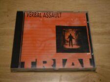 Verbal Assault Trial CD Giant GRI6005-2 Hardcore Punk Minor Threat Black Flag