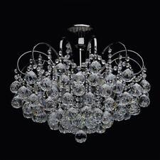 Lampadario barocco classico colore nero lucido metallo gocce cristallo vintage