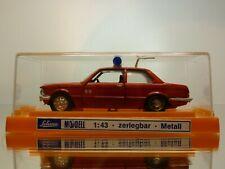 SCHUCO BMW 3 SERIES E21 BRANDWEER DUTCH PROMO - RED 1:43 - GOOD CONDITION IN BOX