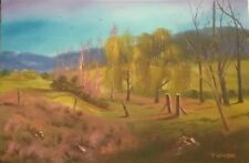 Oil painting original. Corryong. Direct from the artist.