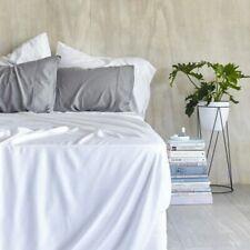Ultra Soft 100% Organic Bamboo Flat Sheet - Queen - White