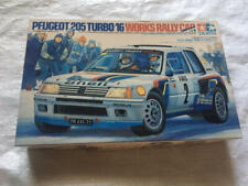 Tamiya 1/24 Scale Peugeot 205 Turbo 16 Work Slurry Car Rare & Valuable Japan