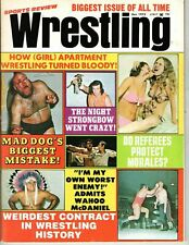 EXC Sports Review 1973 Mr Wrestling 2 Magazine WWF NWA Morales ladies apartment