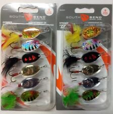 South Bend Spinner Assortment 6-pack 113323
