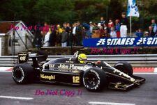 Ayrton Senna JPS Lotus 98T Belgian Grand Prix 1986 Photograph 3