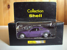 Collection SHELL 1/40 eme ASTON MARTIN DB 7 Neuve en boite   violettes MAISTO