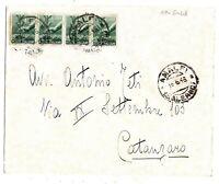 Luogotenenza - Re di Maggio - viaggiata per Catanzaro - 18 - 05 - 1946