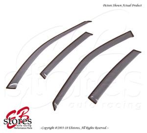 For Chevrolet Lumina 1995-2000 Tape On Ash Grey JDM Window Visors Deflector 4pcs