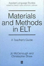 Materials and Methods in Elt: A Teacher's Guide (Applied Language-ExLibrary
