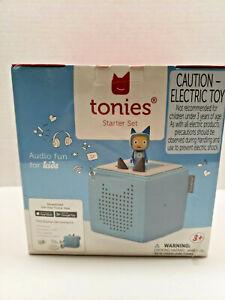 Toniebox Audio Player Starter Set Light Blue Creative Audio Character For Kids
