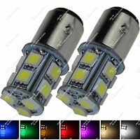 2X 1157 T-25 13 SMD 5050 LED Turn Signal Light Tail Brake Lamp Bulb Car ZE003