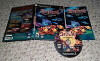 Disney's Stitch Experiment 626 (Playstation 2 PS2) COMPLETE TESTED FAST SHIPPING