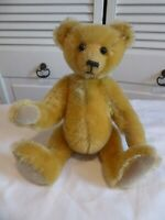 "BEARLY THERE ""Paddy"" 13"" Jointed Teddy Bear LINDA SPIEGEL RARE TAG VINTAGE 1991"