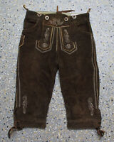 Distler Kinder Trachten Lederhose Grösse 116 Wildbock Kniebund L543