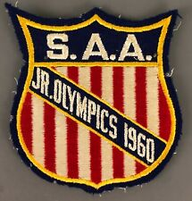 1960 SAA Junior Olympics Embroidered Patch
