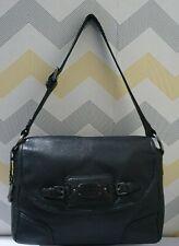 Radley black leather medium shoulder bag
