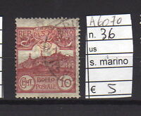 FRANCOBOLLI SAN MARINO USATI N°36 (A6070)