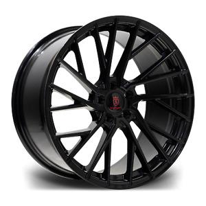 """20"""" Stuttgart SF15 Alloy Wheels Black 5x112 fits Mercedes C Class   E Class"""