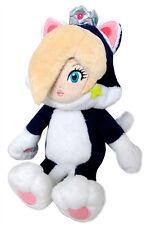 "Little Buddy 1387 Nintendo Super Mario 3D World 9"" Neko Cat Rosalina Plush Doll"