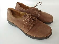 Brown's Landing Ryan Brown Suede Oxford Lace Up Women's Shoes Size 8 M