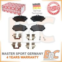 GENUINE MASTER-SPORT HEAVY DUTY FRONT DISC BRAKE PAD SET FOR MERCEDES-BENZ