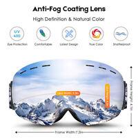 Anti-Fog Snowboard Frameless Goggles UV Protection Snowmobiles Skiing Sunglasses