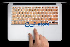 Wood Style Macbook Keyboard Stickers Macbook Air / Pro Keyboard Decals Skin WD