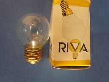 haute qualité RIVA Spécial Ampoule 125/130V E27 10W Transparent