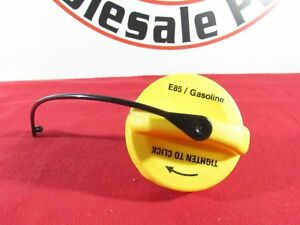 DODGE RAM CHRYSLER JEEP E-85 Ethanol Flex Fuel Yellow Gas Cap NEW OEM MOPAR