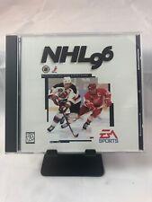 NHL 96 Hockey~EA Sports Pioneer PC CD-ROM Vintage Game Software.  No manual
