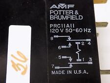 POTTER & BRUMFIELD 120V RELAY PRCIIA11