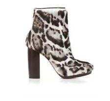 Christopher Kane Jaguar Goat Skinned Ankle Boots Size 37