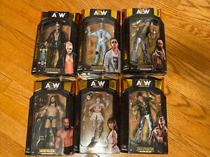 AEW Unrivaled Series 3 Complete Set of 6 NEW Darby PAC Riho Bucks Cassidy LOT