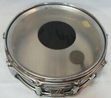 """Vintage Ludwig Supraphonic Snare Drum 70's Blue & Olive Badge 14"""" x 5"""""""