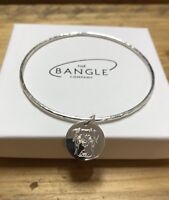Boxer Dog Jewellery Personalised Sterling Silver 925 Bangle
