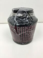 """K&N Universal Air Cone Intake Filter Car Truck SUV Red 5"""" x 5"""""""