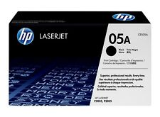 HP Genuine 05A CE505A BLACK Toner For LJ P2035 P2035N P2055D P2055DN 2,300 Pages